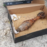 สระบุรี040862หนุ่ม30ปีตกปลาริมคลองชลประทานได้ลูกระเบิด