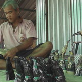 เพชรบูรณ์ นำเขาควายสิ่งเหลือใช้ในชุมชน มาแกะสลักเป็นรูปสัตว์ขายรายได้งาม