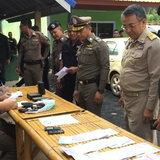 ตำรวจสุราษฎร์ฯ สนธิกำลังตัดตอนเครือข่ายยานรก-พบเงินสดหมุนเวียนกว่า 400 ล้าน