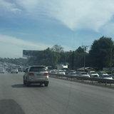 สภาพจราจรถนนมิตรภาพ มุ่งหน้ากรุงเทพฯ