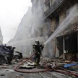 แก๊สรั่วระเบิดที่ปารีส