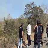 เผาป่าบนดอยหน้าศาลากลางลำปางท้าท้ายประกาศห้ามเผาวันแรก