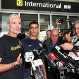 ฮาคีม อัล อาไรบี กลับถึงออสเตรเลีย