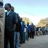 ชาวโซมาลีแลนด์ต่อแถวรอเลือกตั้งประธานาธิบดี