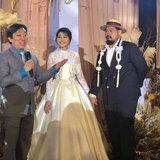 ป๊อบ ปองกูล ในพิธีแต่งงาน