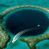 หลุมดำใหญ่กลางทะเล ลึกกว่า 200 ม.