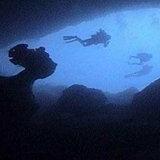 ภาพใต้ท้องทะเล ภายในหลุมน้ำเงิน