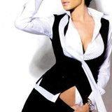 Aida Yespica, girlfriend of Matteo Ferrari of Italy
