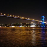 Bosphorous Bridge in Turkey