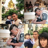 จา พนม และครอบครัว