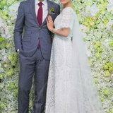 มัดหมี่ พิมดาว แต่งงาน