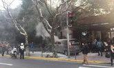 รถตู้ไฟลุกกลางเซี่ยงไฮ้ พุ่งชนคนเดินเท้า เจ็บระนาว 18 คน