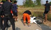 หนุ่มแม่สอดขี่รถคว่ำในทางเปลี่ยว ตายในวันเกิดเข้าวัยเบญจเพส