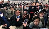 สายการบินจีนปล่อย Wi-Fi ให้ผู้โดยสารใช้มือถือบนเครื่องบินได้