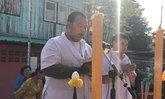 อาจารย์สักยักต์ชื่อดังทำบุญใหญ่ หลังรอดตายถูกแก๊งจีนรุมกระทืบ