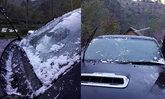 นทท.ตื่นมาตกใจ เที่ยวอ่างขางเช้ามาน้ำแข็งเกาะเต็มรถ