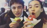 รักเรายังฟิน ธันวา ควง กรีน แพ็คคู่เที่ยวหนาวฉ่ำอยู่ญี่ปุ่น