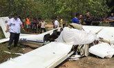เครื่องบินเล็กตกที่ภูเก็ต นักบิน-อาจารย์ตาย 2 ศพ นร.ช่างเจ็บ 2