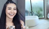 """เปิดบ้านใหม่ """"แก้ม เดอะสตาร์"""" เผยตัดสินใจซื้อเพราะห้องน้ำสวย"""