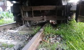 รถไฟตกรางหน้าโรงรถบางซื่อ ทำสายใต้ชะงัก