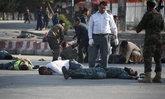 ระเบิดฆ่าตัวตายสนามบินคาบูล ต้อนรับรองประธานาธิบดี ดับอย่างน้อย 11 ศพ