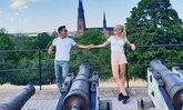 """รักนี้เพื่อเธอ """"บอย พิษณุ"""" บินเยี่ยมบ้านครอบครัวแฟนสาวที่สวีเดน"""