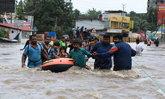 อินเดียประกาศเตือนภัยขั้นสูงสุด รับมือน้ำท่วมครั้งใหญ่ในรอบ 100 ปี