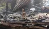 แก๊สระเบิด! เผาวอดพระพุทธรูป-บ้านทรงไทย 100 ปีของครูสาวเมืองอ่างทอง