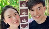 """""""บีม กวี"""" ประกาศข่าวดี ภรรยาตั้งท้องแล้ว พร้อมเผยภาพครอบครัวภาพแรก"""