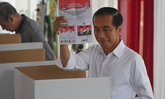 ประธานาธิบดีโจโก วิโดโด จ่อคว้าชัยเลือกตั้งอินโดนีเซียได้อีกสมัย