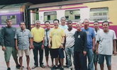 ส.ส.ป้ายแดงพัทลุง แห่นั่งรถไฟเข้าเมืองกรุง เปิดประชุมสภา