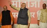 โมดี คว้าชัยนั่งเก้าอี้นายกฯ อินเดียอีกสมัย หลังชนะเลือกตั้งด้วยคะแนนท่วมท้น