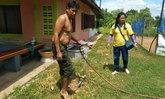 โจรแสบตระเวนขโมยปั๊มน้ำหมู่บ้าน ชาวบ้านเดือดร้อนกว่า 150 หลังคาเรือน