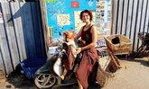คุณแม่ฮิปปี้ตอบแทนเมืองปาย ทิ้งรถมอเตอร์ไซค์ไว้ให้นักท่องเที่ยวใช้ฟรี