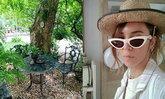"""""""ปาล์มมี่"""" วางไมค์ชั่วคราว ขุดดินปลูกต้นไม้แต่งบ้าน บอกเลยว่าสวยน่าอยู่มาก"""