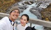 """""""เวียร์-เบลล่า"""" รูปคู่แรกทริปไอซ์แลนด์ ถูกแซวหลงทางหรือหลงเธอ"""