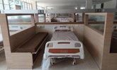 """มิติใหม่ """"ห้องผู้ป่วยเตียงรวม"""" รพ.คูเมือง สะอาด สวยงาม ใช้เงินบริจาคอย่างคุ้มค่า"""