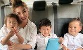 """""""ฮารุ"""" กระเตงลูกเที่ยวญี่ปุ่น เล่าประสบการณ์พายุไต้ฝุ่นฮากิบิสถล่ม ตอนนี้ปลอดภัยแล้ว (คลิป)"""