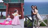 """""""เบนซ์-มิค"""" จูงมือลูกสาวเที่ยวเกาหลี ทริปนี้แอบหวาน นานๆ มีรูปคู่"""