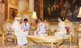 สมเด็จพระสันตะปาปาฟรังซิส เข้าเฝ้าฯ ในหลวง-ราชินี ณ พระที่นั่งอัมพรสถาน