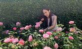 """เปิดสวนดอกไม้บ้าน """"อั้ม พัชราภา"""" สวยและอลังการมาก"""