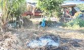 สยอง หนุ่มนอนไม่หลับออกมาผิงไฟคลายหนาว ล้มฟุบคากองเพลิงร่างถูกเผาไหม้เกรียม