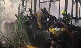 ไฟไหม้ชุมชนวัดกัลยานิมิตร บ้านไม้สักทองโบราณ สมัยรัชกาลที่ 5 วอดวาย