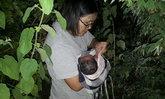 แม่ไปไหน? พบทารกอายุประมาณ 4 ชั่วโมงถูกทิ้งในพุ่มไม้ ยังไม่ทันได้ตัดสายสะดือ