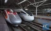 """ชาวจีนแห่ใช้บริการรถไฟความเร็วสูงเชื่อม """"กว่างโจว-เซินเจิ้น-ฮ่องกง"""" (อัลบั้ม)"""