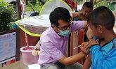 """เดินหน้ามาตรการ 323 """"สยบโรคหัด"""" เร่งค้นหาผู้สัมผัสผู้ป่วยให้วัคซีนป้องกัน"""