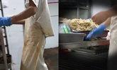 อ้วกแทบพุ่ง สื่อจีนแฉขั้นตอนการทำข้าวกล่องราคาถูก ผลิตวันละ 400,000 ห่อ