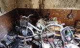 เพลิงไหม้บ้านไม่ทราบสาเหตุ แมวโชคร้ายติดในกองเพลิง ดับเพลิงช่วยรอดหวุดหวิด