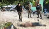 ตำรวจสอบเครียด เพื่อนในวงเหล้า-หลังพบศพคนงานไทยคอหักนอนตายหน้าแคมป์