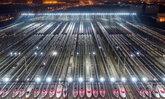 """ใหญ่อลังการ """"ศูนย์ซ่อมบำรุงรถไฟความเร็วสูง"""" จอดทีเดียว 100 ขบวน ในอู่ฮั่น"""